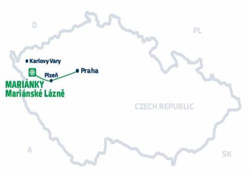 Snowhill Cz Marianky Marianske Lazne Mapa Osrodka
